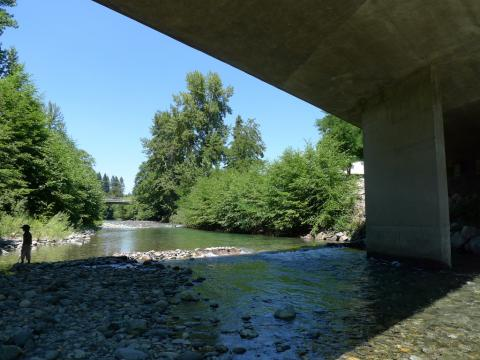 Indian Creek in Happy Camp, CA.